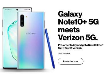 5G版三星Note 10+預購頁面疑洩 全系列重點規格曝光