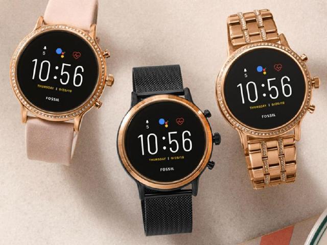 第五代Fossil智慧手錶發表 能用Google語音助理與接電話