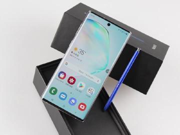 SAMSUNG Note 10台灣上市版本開箱 855跑分實測