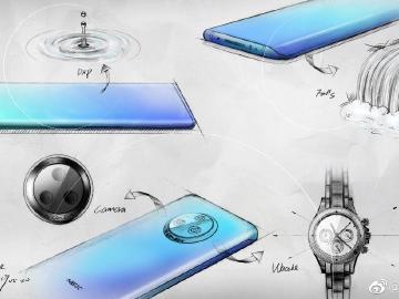 NEX新旗艦外型亮相?vivo釋設計圖稿與玻璃面板