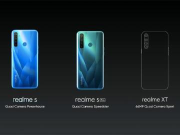 低價手機也有四鏡頭規格 realme 5系列發表