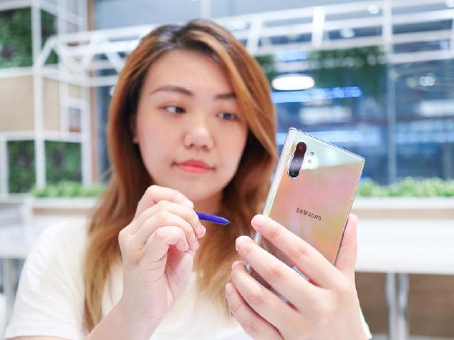魔杖S Pen 三星Note10系列手機的十個手寫筆應用