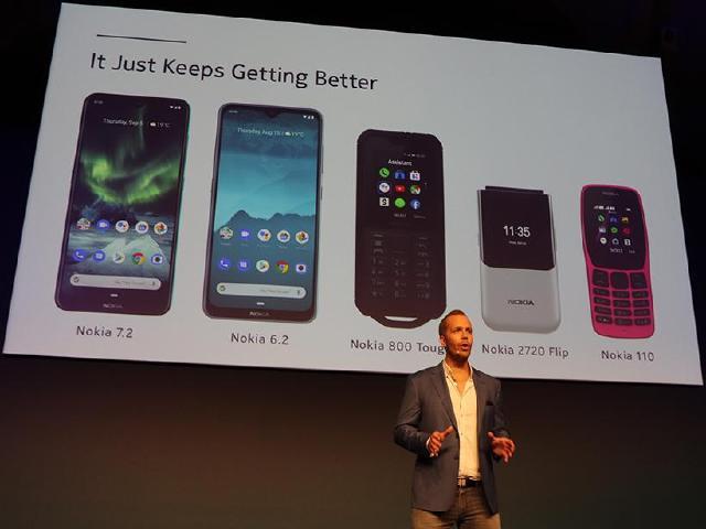 HMD發表Nokia 7.2與6.2 三款功能型手機同步亮相[IFA 2019]
