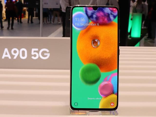 三星5G新手機直擊 A90背蓋擁有幾何圖案設計[IFA 2019]