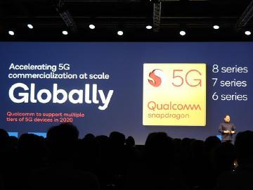 5G下放中高階手機 2020高通將擴展至Snapdragon多平台[IFA 2019]