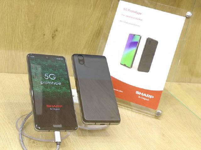 夏普展5G手機與10月台灣即將上市的AQUOS V[IFA 2019]