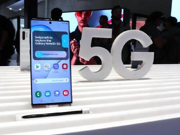 三星5G手機數量領先同業 S10、Note10、A90與Fold多款可選