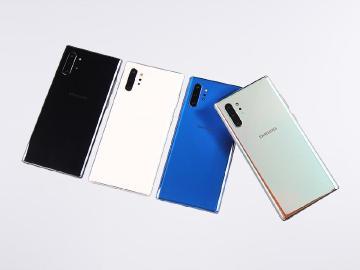 稜鏡折射設計 SAMSUNG Note 10+台灣四款顏色開箱