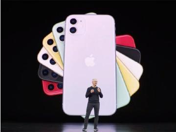 iPhone 11接續iPhone XR 加上雙鏡頭主相機與新色