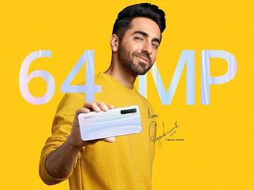 6400萬畫素四鏡頭手機realme XT 台灣最快10月上市