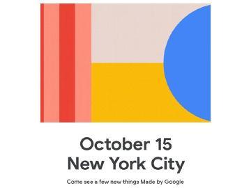 Google將在10/15發表Pixel 4手機等新品