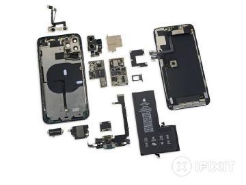 iPhone 11 Pro Max拆解未見反向無線充電和相機記憶體