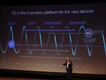 高通:5G網路技術發展速度快,6G不會太遙遠