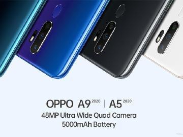 四鏡頭、大電量 OPPO A9與A5 2020台灣10月上市