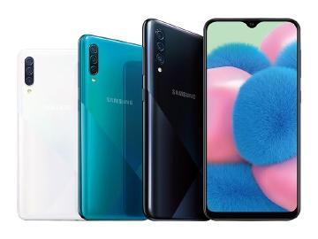 6.4吋螢幕、三鏡頭手機 SAMSUNG A30s台灣10月中開賣