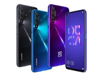 華為nova 5T台灣價格11990元 10/9三大電信上市