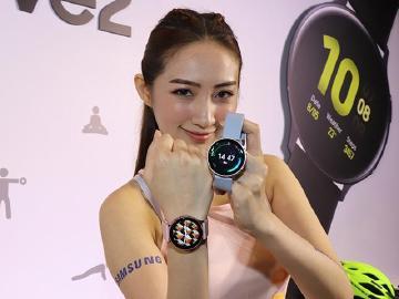 三星Galaxy Watch Active2時尚智慧手錶 10月中台灣上市