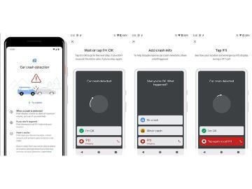 Google Pixel 4將具備車禍碰撞緊急通報功能