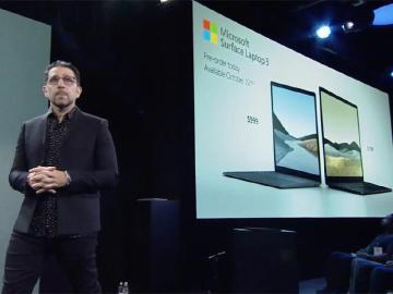微軟發表Surface Laptop 3 首度增加AMD處理器和15吋螢幕
