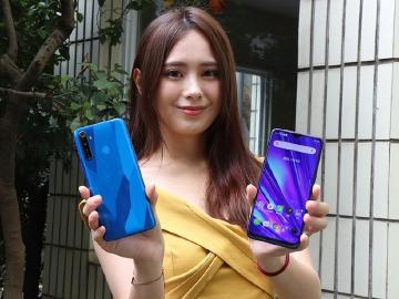 全面四鏡頭 realme 5與5 Pro手機10月底台灣上市
