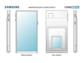 三星可折疊螢幕手機設計專利曝光 螢幕靠捲軸拉長與收納
