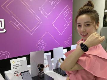 [影片]燦坤雙11購物節開跑 華米智慧手錶GTS魅力版、GTR紳士版獨賣