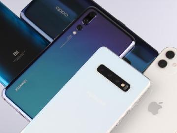 Q3華為逆勢大幅增長 5大智慧型手機品牌佔全球出貨量70%以上