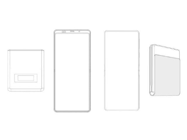 掀蓋設計!小米與華為最新的可折疊手機專利曝光