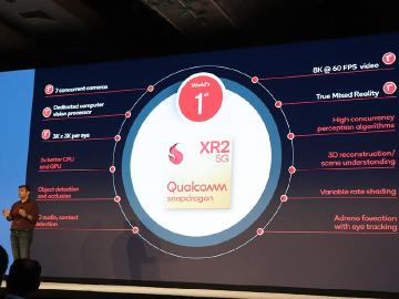 高通發表Snapdragon XR2 首款支援5G的擴增實境平台