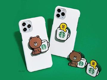 LINE Pay攜手星巴克 1/22前集點可換熊大手機架