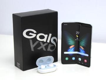三星摺疊手機Galaxy Fold 台灣版本開箱與跑分