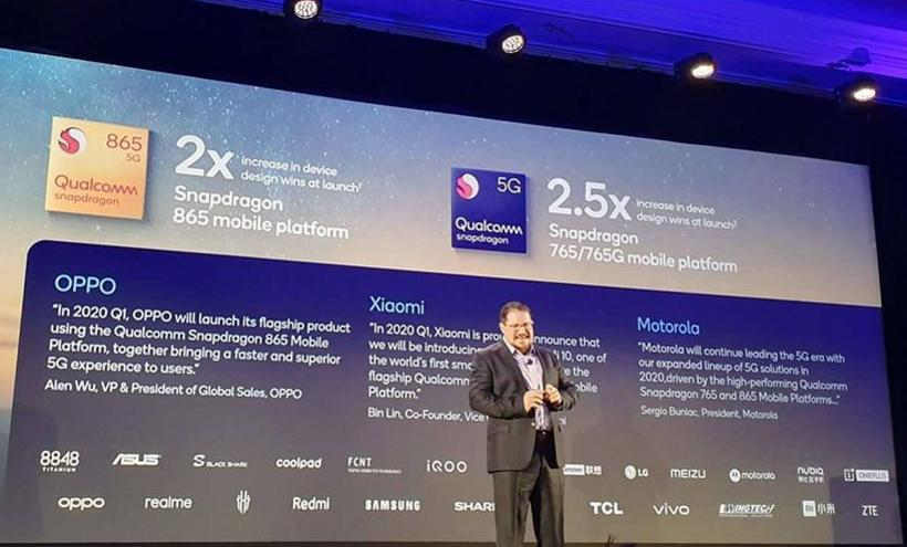 高通5G平台獲業界廣泛採用 S865與S765合作夥伴再擴大[CES 2020]
