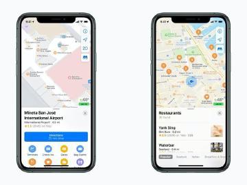 蘋果更新美國地圖服務 圖資和導航準確率提升
