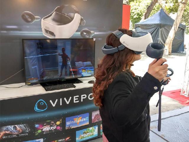 HTC攜手中華電信 2020台中燈會VR遊戲免費玩