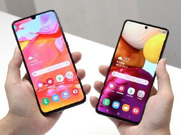 三星A70 VS A71 前後代A系列大螢幕手機比較