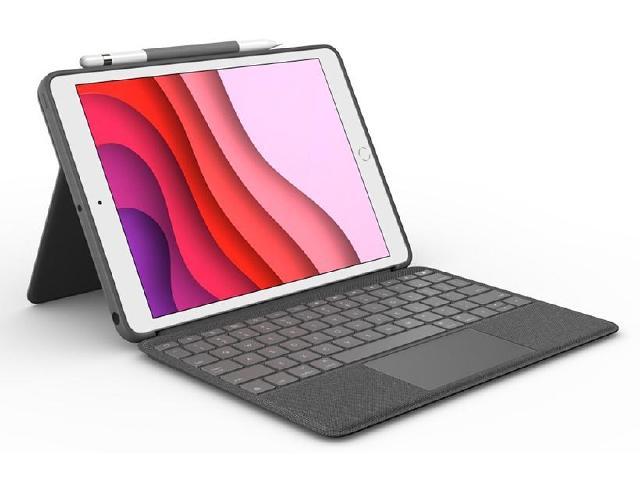 羅技針對更多iPad提供具觸控板操作鍵盤保護套