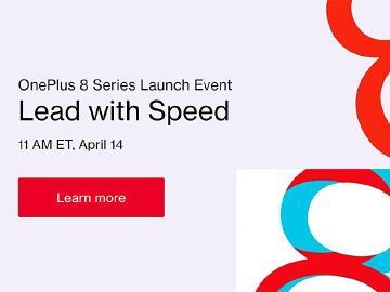 OnePlus 8系列5G手機確定4/14線上發表