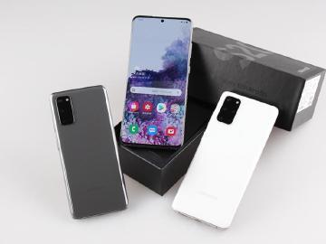 外觀與規格比一比 SAMSUNG S20全系列5G手機開箱