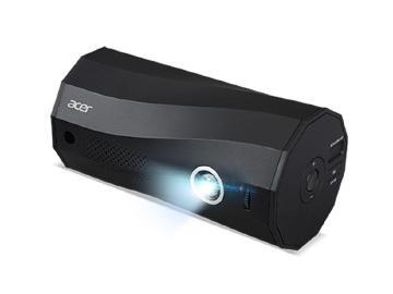 首創直向投影模式 Acer C250i可攜式LED投影機線上開賣
