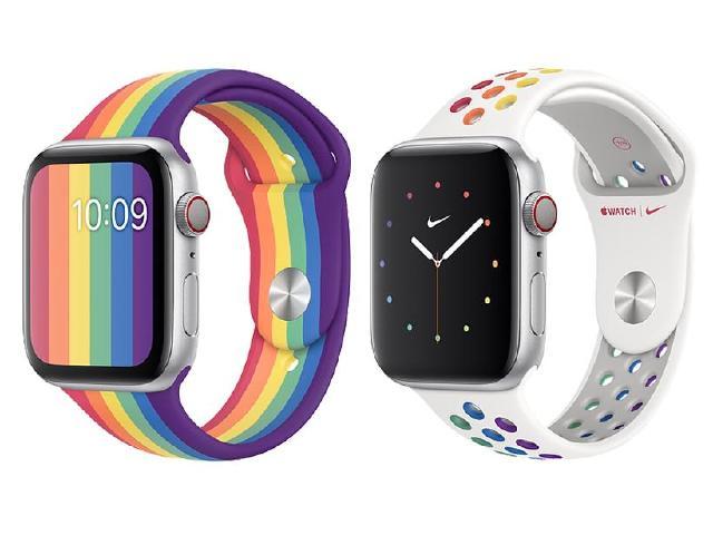 響應同志驕傲月!蘋果攜手Nike推出Apple Watch彩虹錶帶