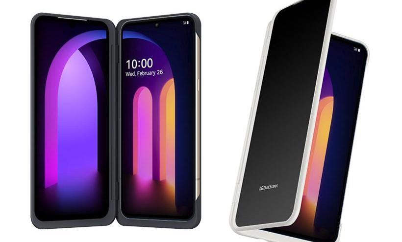 搶在5G開台前推出 LG V60 ThinQ雙螢幕手機6月上市