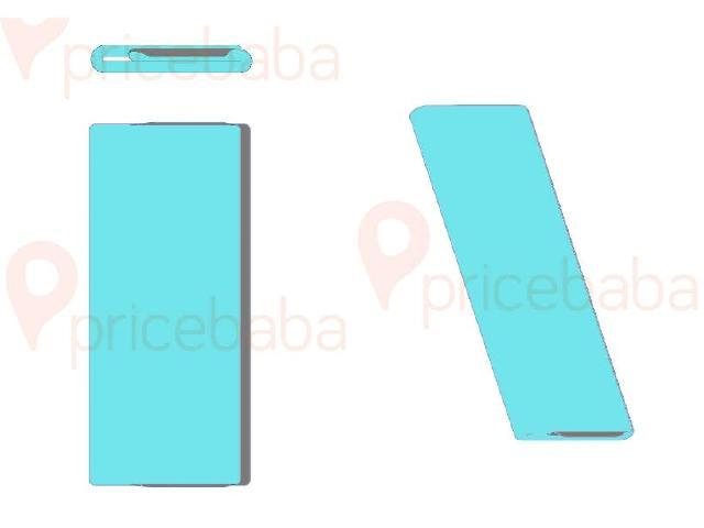 新折疊手機設計專利曝光 ZTE螢幕可以三折收納