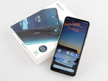 平價四主鏡頭 6.55吋手機Nokia 5.3開箱