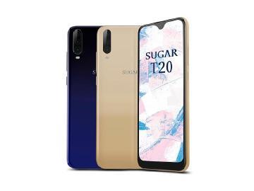 SUGAR T20單機不到4千5 買手機再送運動手環