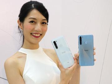 HTC發表5G手機U20 中階Desire 20 pro即日上市