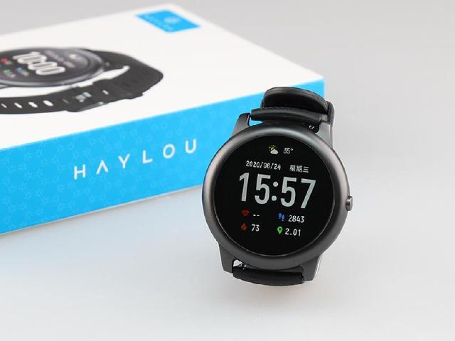 IP68防水超平價智慧手錶 Haylou Solar開箱