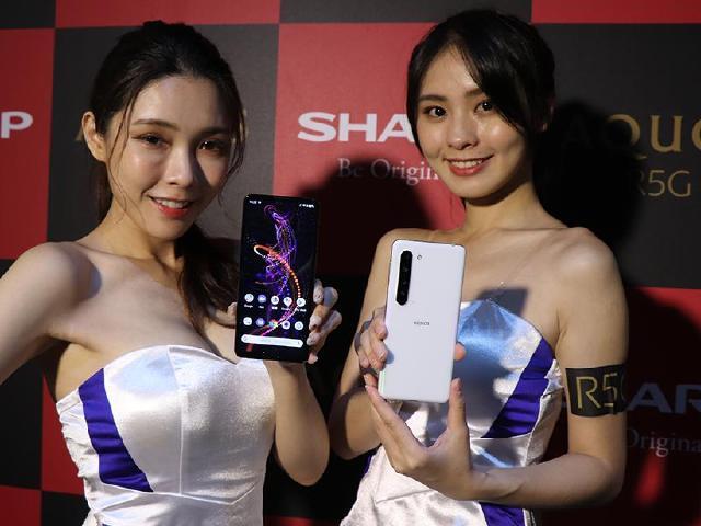 夏普首款5G手機SHARP AQUOS R5G 台灣7/6上市