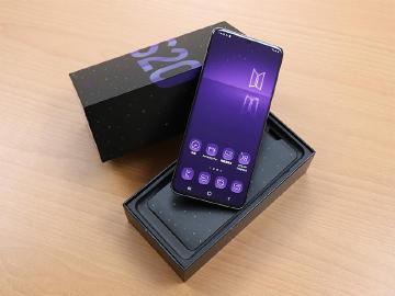 紫愛你、超絕美!SAMSUNG Galaxy S20+ BTS特別版開箱
