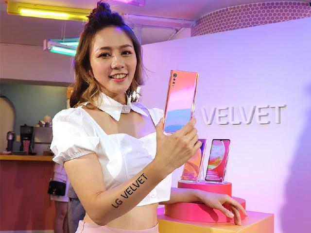 5G蛋糕機LG Velvet台灣價格19990 中華電信獨賣