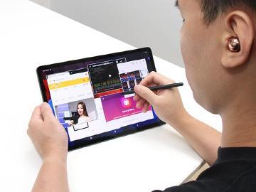 12.4吋三星旗艦平板 Galaxy Tab S7+搶先體驗
